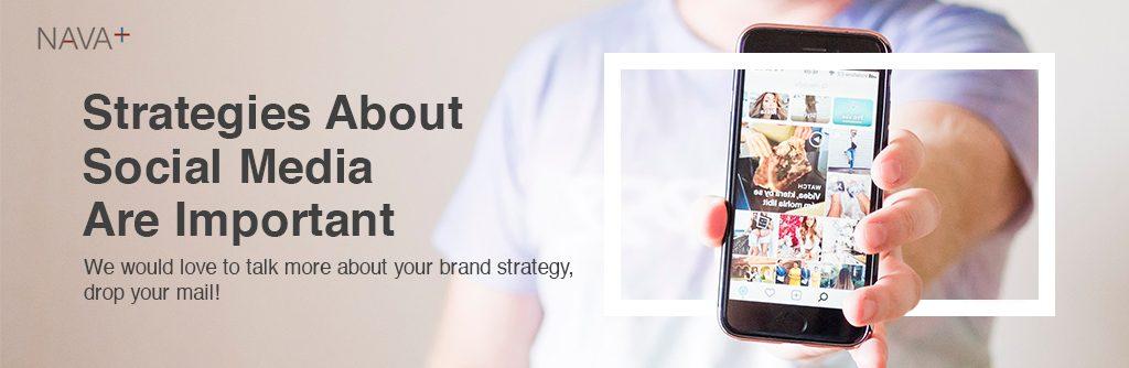 social media strategy banner